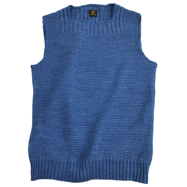 2e_3_da_cotton_knit_indigo_vest1