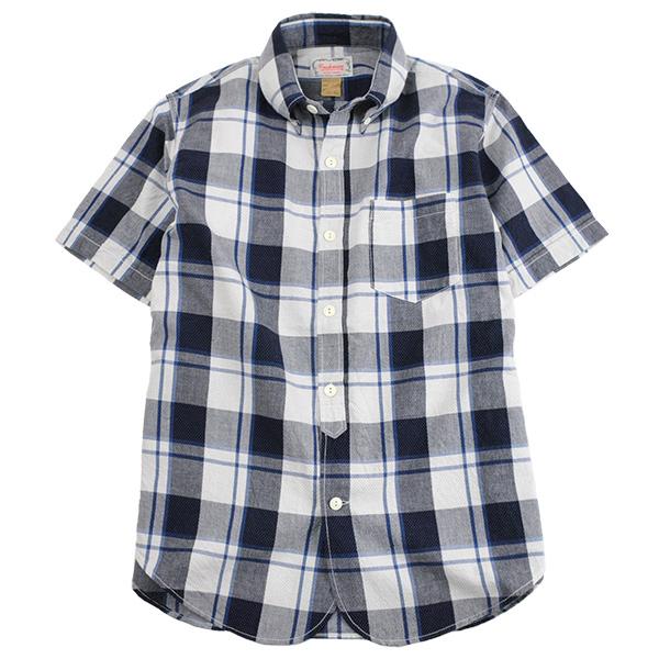 3b_1ab_cm_dobby_check_bd_shirts_ss1
