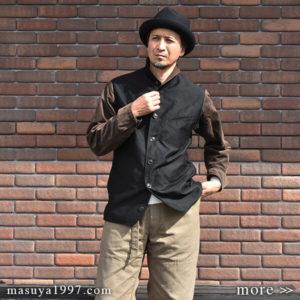 "DjangoAtour ""classic moleskin hunter jacket"""
