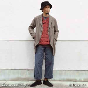 "DjangoAtour ""farmers wide pants"""