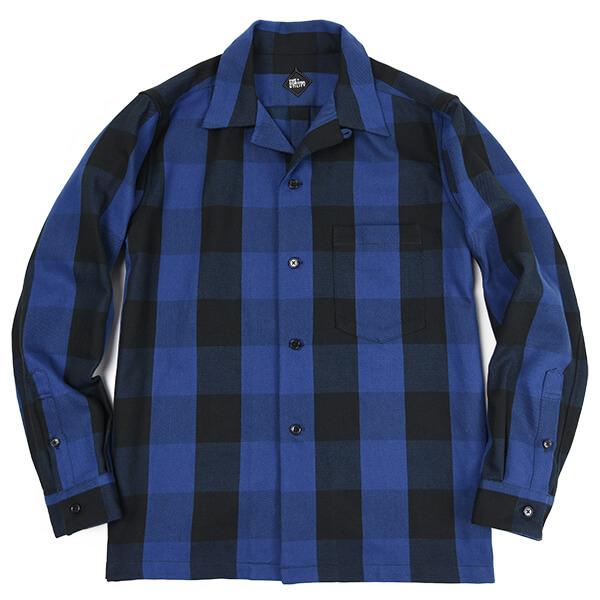 3b_1ca_corona_french_cafe_shirt_cotton_check_nel106