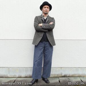 "DjangoAtour ""classic irishworker jacket & da classic vest"""