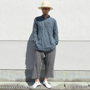 "DjangoAtour ""frenchvictorians premium-linen pullover"""